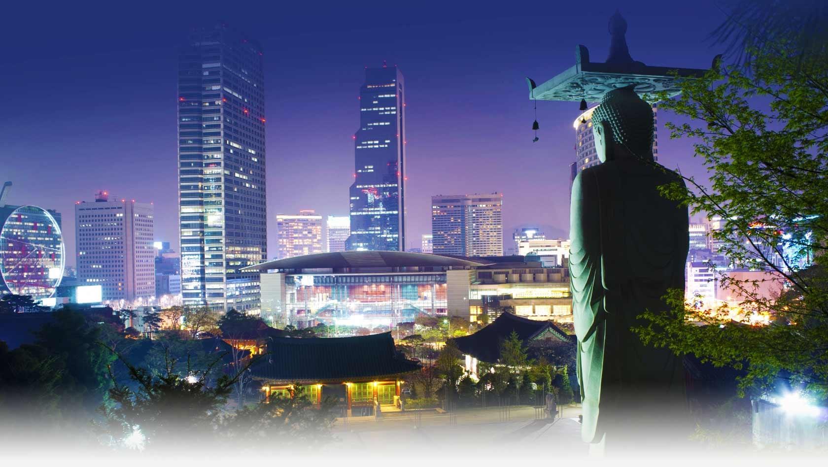 vé máy bay Air Asia đi Seoul Hàn Quốc