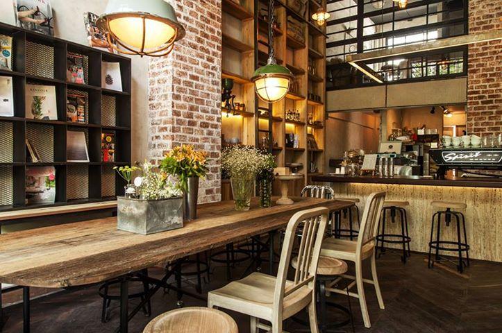 Những quán cafe xinh đẹp ở Bangkok