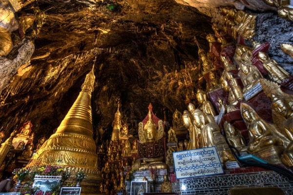 Hang động Pindaya - nơi cất giữ bảo vật xứ chùa tháp