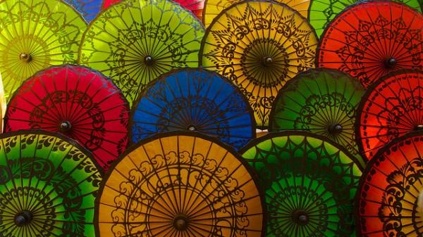 Pathein - thành phố của những chiếc ô