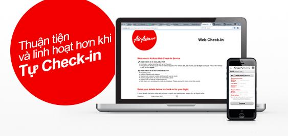 Check-in trực tuyến tiện lợi và linh hoạt!