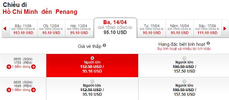 Mua vé máy bay đi Penang giá rẻ ở đâu?