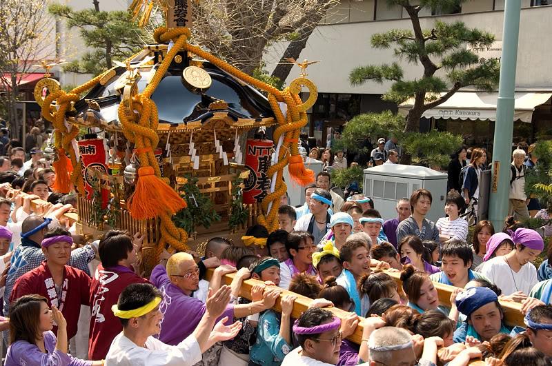 Lễ hội Tenjin Matsuri3