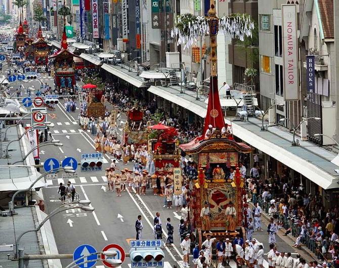 Lễ hội Tenjin Matsuri5