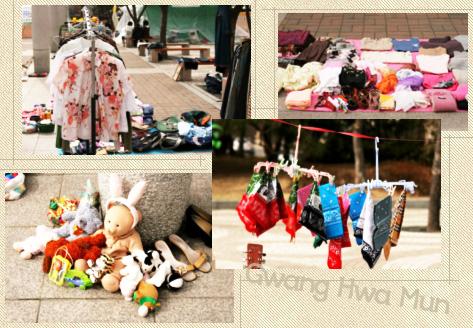 chợ trời Gwanghwamun