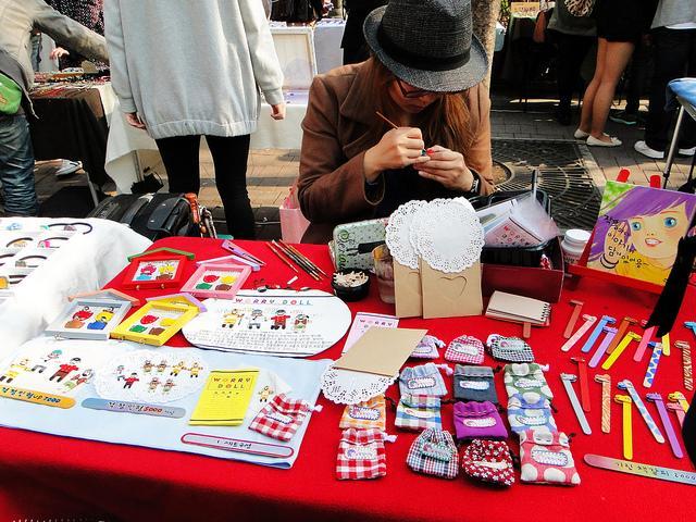 chợ trời Hongdae