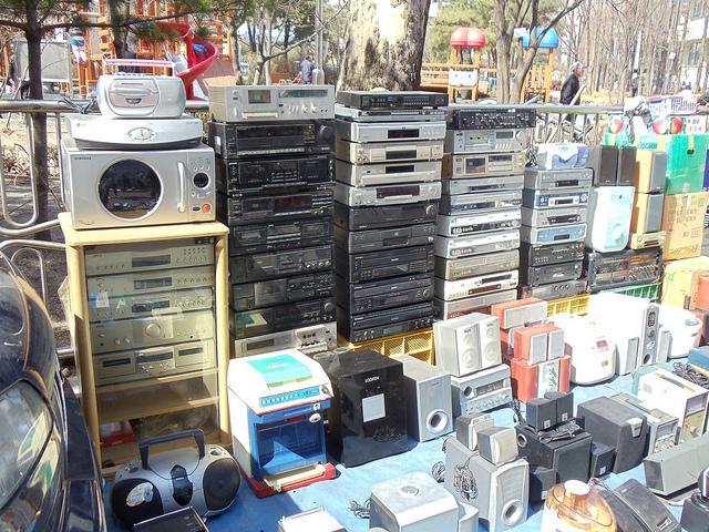 chợ trời Yongsan