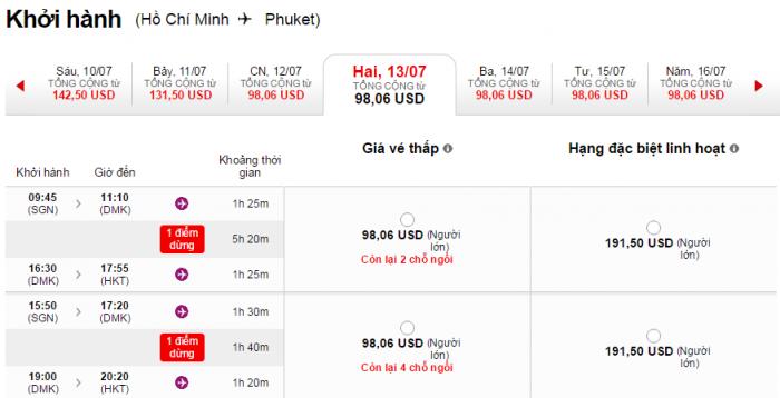 HCM-Phuket