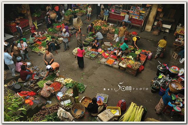 Ubud chợ địa phương