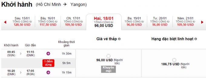HCM-Yangon