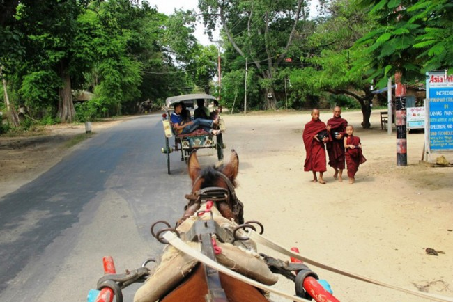 đi lại myanmar