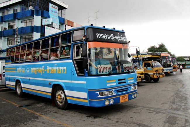 xe khách myanmar