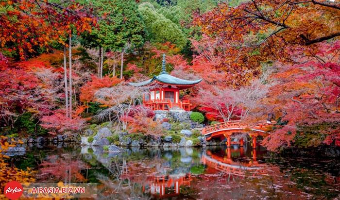 Mùa thu cố đô Kyoto Nhật Bản