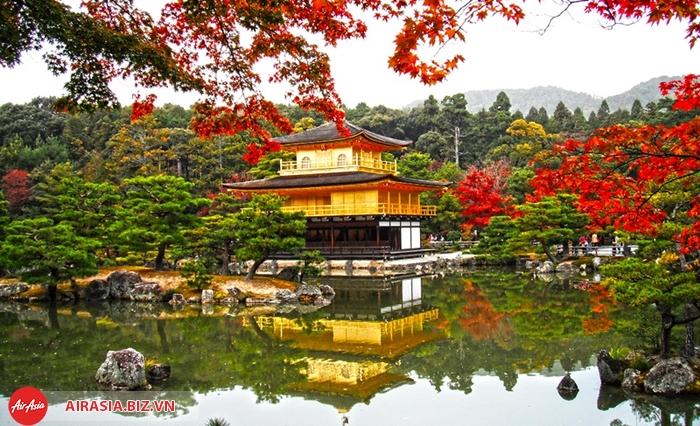 Chùa vàng Kyoto Nhật Bản