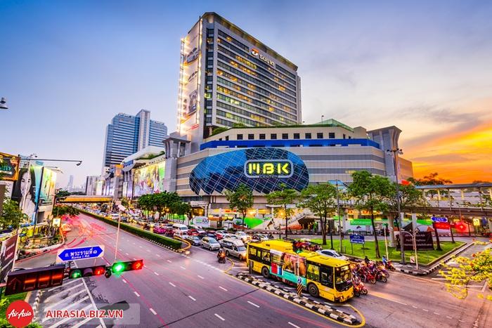 Địa chỉ mua sắm lý tưởng của Bangkok