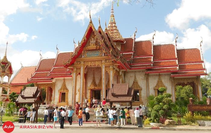 đền Wat Chalong Phuket