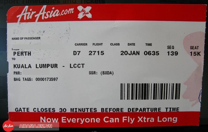 Vé Air Asia