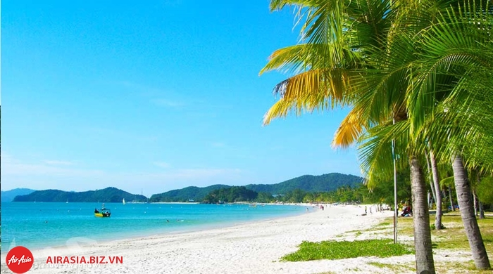 Bãi biển Langkawi Malaysia