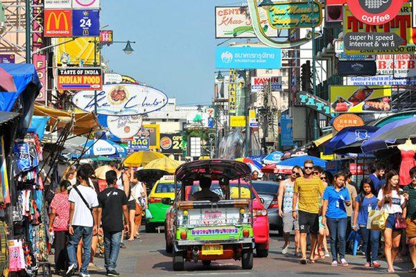 Khao San của Thái Lan