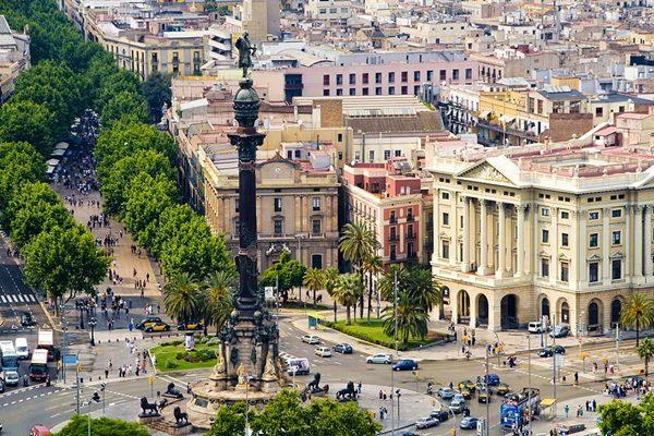La Rambla ở Tây Ban Nha