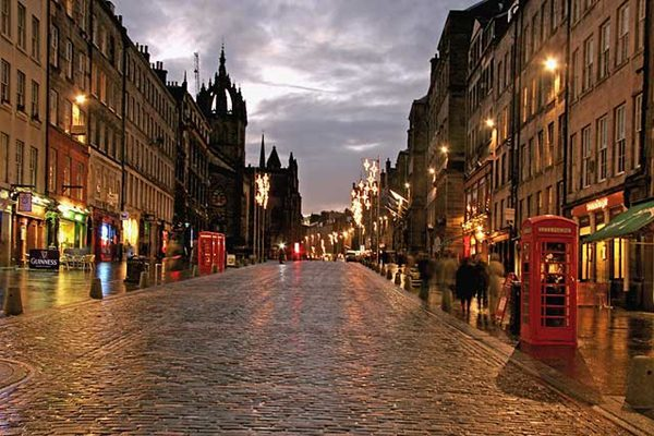 Royal Mile ở Scotland